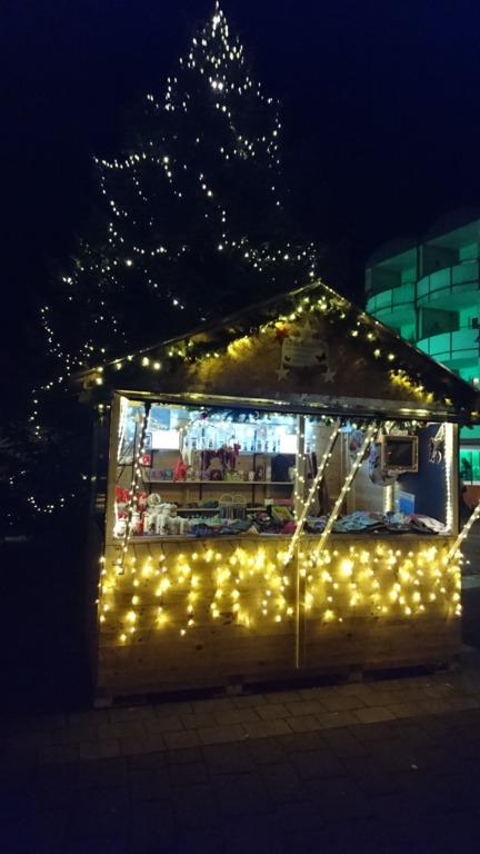 weihnachtsmarkt holte